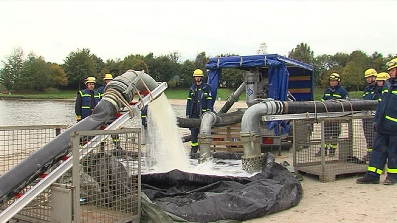 Spezialkräfte im Einsatz für den Wasserkreislauf